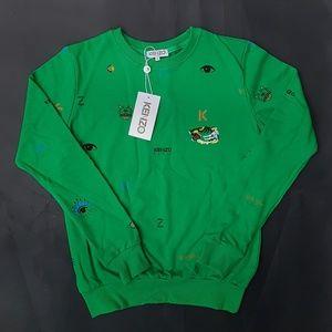 sweatshirt kenzo green